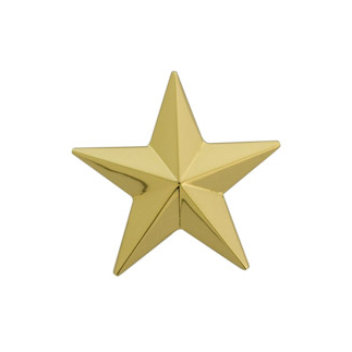 Assieraad gouden ster