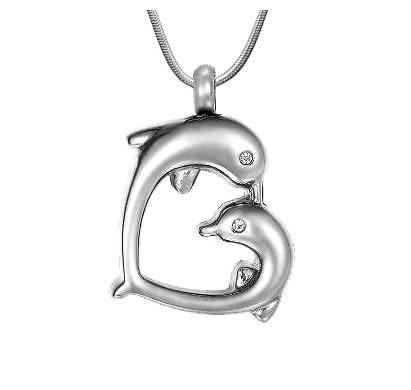ashanger dolfijnen te koop gedenksieraad rvs