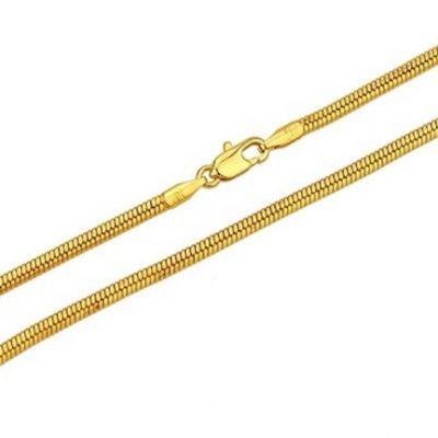ronde ketting goud te koop