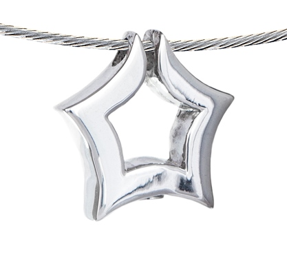 ster ashanger zilver kopen