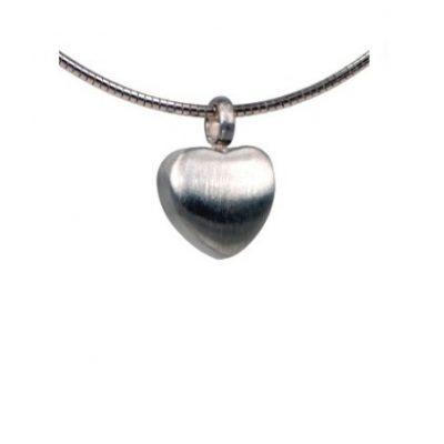 gedenksieraad zilveren hart