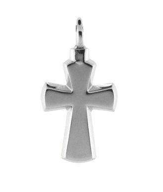 ashanger kruis zilver
