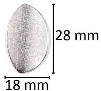 ovaal assieraad asjuweel zilver
