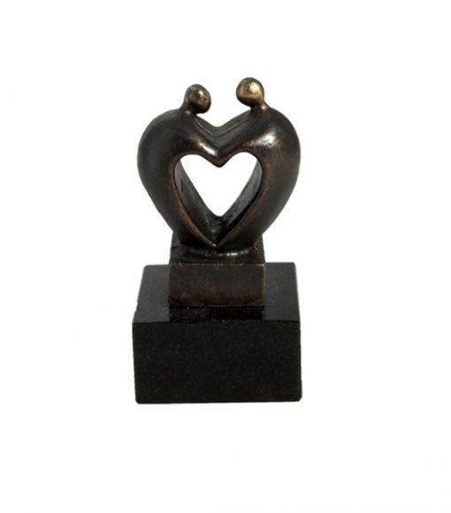 mini urn brons