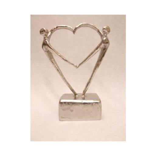 mini urn hart beeldje kopen