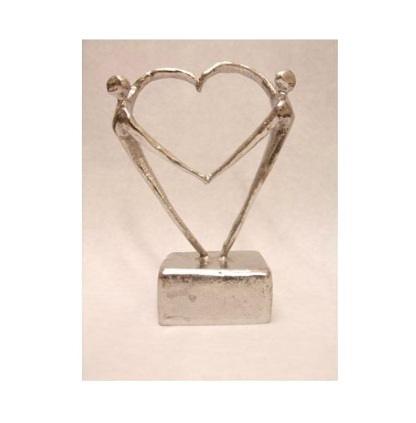 mini urn hart beeldje