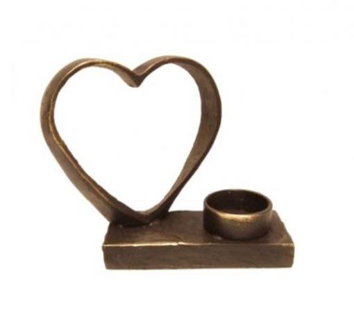 mini urn met waxinelichthouder