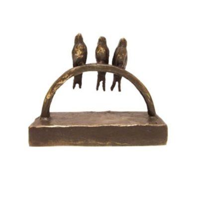 mini urn vogeltjes beeld