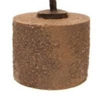 sokkel bruin engel urn
