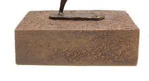 sokkel bruin mini urn