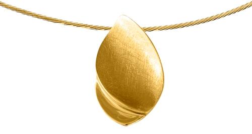 assieraad goud traan hanger