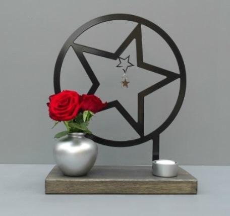 gedenkteken ster herdenkkunst binnen huis kopen