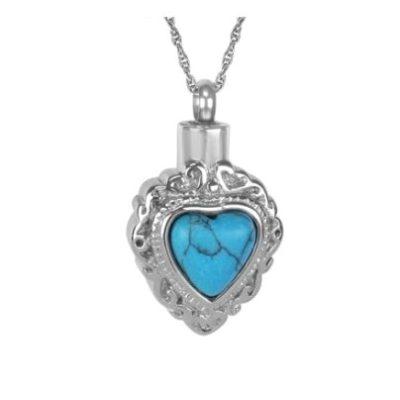 ashanger blauw hart steentje kopen