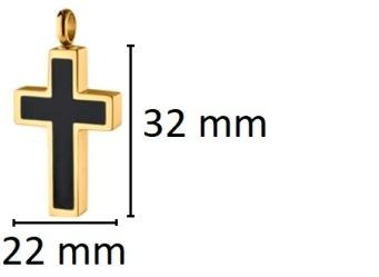 ashanger goudkleurig kruis kopen gedenksieraad