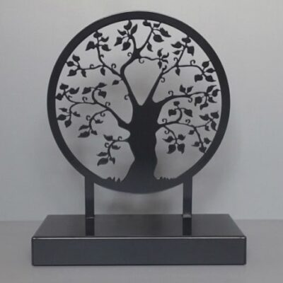 urnbeeld boom te koop as kunstobject