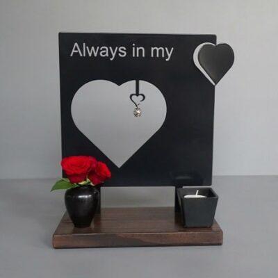 asbeeld always in my heart gedenkbeeld urn