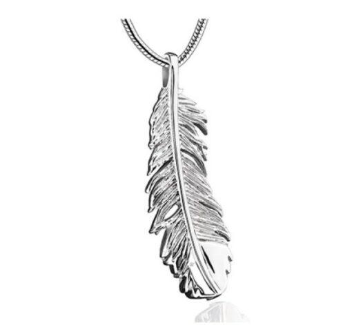assieraad veertje gedenkhanger kopen zilver