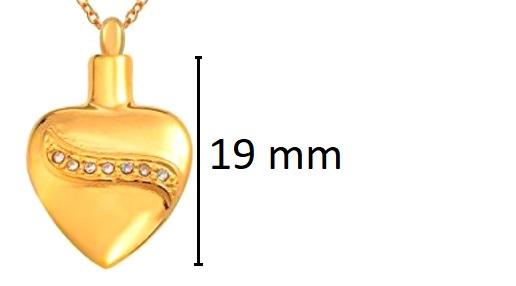 ashanger goudkleurig hart rvs asjuweel kopen