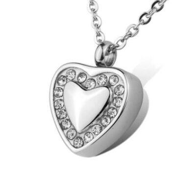 ashanger hart met steentjes te koop asjuweel