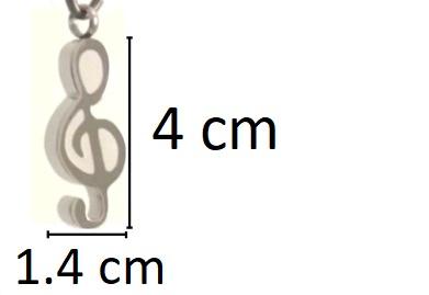 g sleutel ashanger kopen rvs gedenksieraad