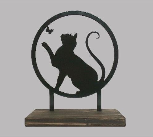 katten asbeeldje gedenk cadeau kopen