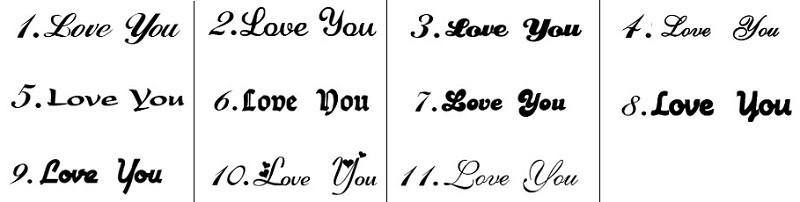 lettertypen naamkettingen kopen